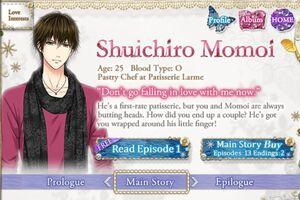 Shuichiro Momoi - Profile