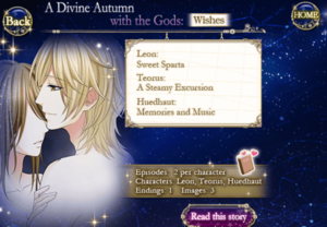 Star-crossed myth A divine autumn with the gods wishes overview
