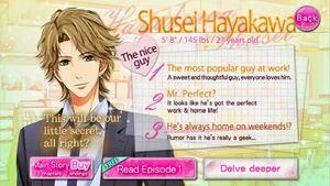 Shusei profile