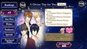 A Divine Trip for Two -Wishes- infobox