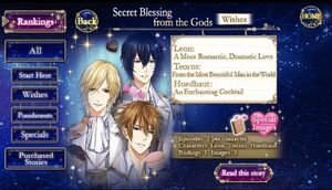Secret Blessing from the Gods- Wishes