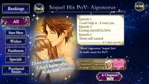 Sequel His PoV - Aigonorus