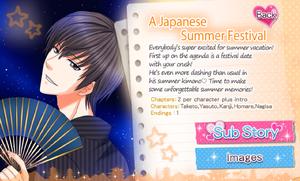 A Japanese Summer Festival