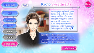 Kyoto Sweethearts