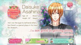 Daisuke Asahina character description (1)