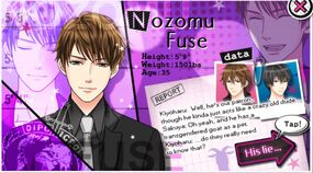 Nozomu Fuse character description (1)