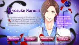 Kyosuke Narumi character description (2)