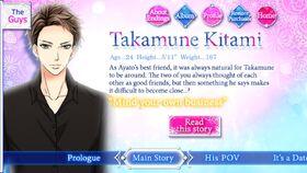 Takamune Kitami character description (1)