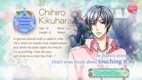 Chihiro Kikuhara character description (1)