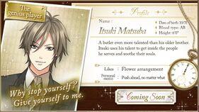 Itsuki Matsuba character description (1)
