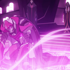 Zarkon being infused with Quintessence.