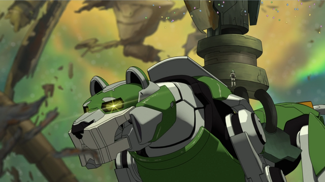 File:S2E01.258. Green Lion hears Pidge's call.png