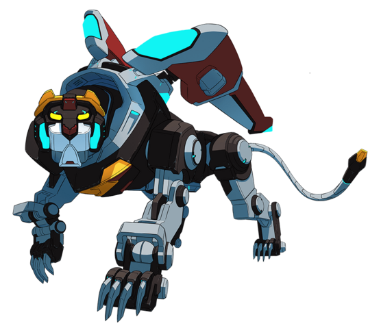 File:Official - Black Lion standing pose.png