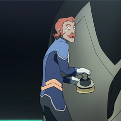 Judging by his expression, Coran's boot training was somewhere near Camp Crystal Lake.