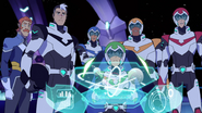 11. Team Voltron looks daunted by Zarkon's complex