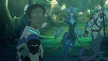Lance and Queen Luxia