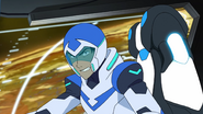 S2E11.182a. Lance snarling as his friends get hit 2