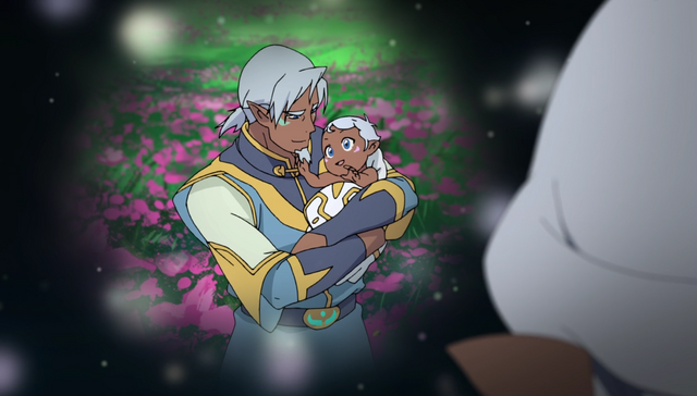 File:298. Alfor's memories - Alfor with baby Allura.png