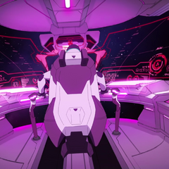 Inside Black's cockpit as the Galra corruption takes over.