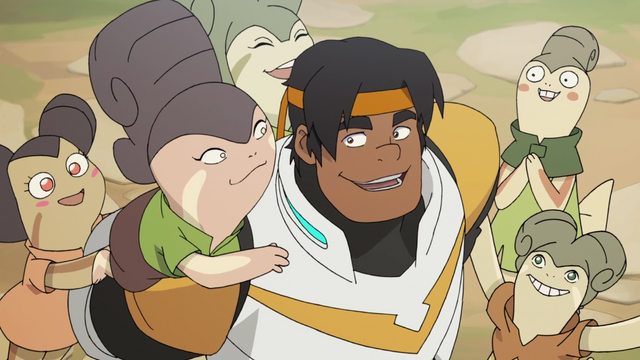 File:33. Hunk and his Arusian fans.png