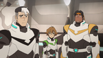 S2E03.166. Shiro looking down at Keith and Lance's doubts