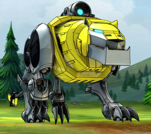Yellow Lion