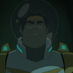 Hunk is scary when he's not scared. And if he had a facial scar.