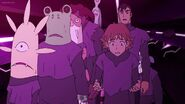 Shiro, Former Galra Prisoners and Matt are afraid