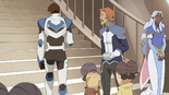 35. Worried Coran watching homesick Lance