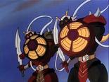 Ep.12.6 - Twins raising shields against Golion sword