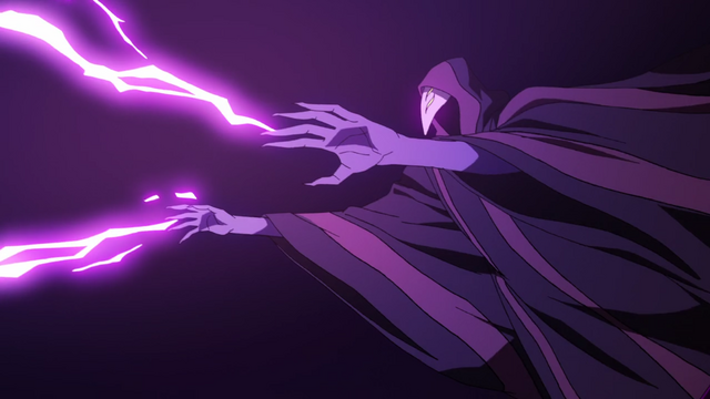 File:S2E09.67. Druid shooting lightning towards Zarkon.png