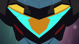 90. Black Lion (Voltron) chest V detail