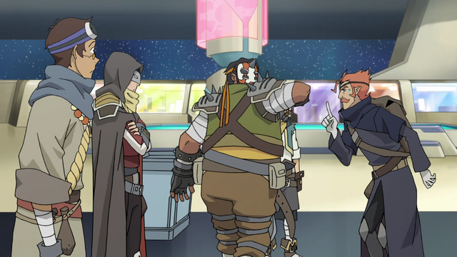 File:S2E07.59. Lance Keith Hunk Coran disguises.png