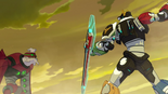 8. Voltron takes a swing