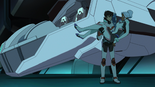 S2E06.58. Wow a full human couldn't hold Allura up that way