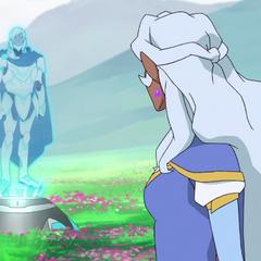 Allura meets King Alfor's AI.