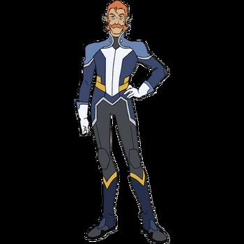 Voltron Force Characters Names Coran (Legendar...