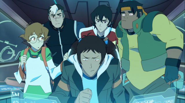 File:Shiro, Keith, Lance, Pidge & Hunk.png
