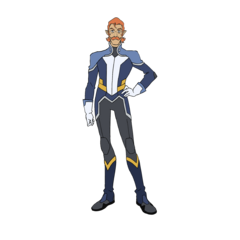 Coran's casual (and so far, only) outfit.