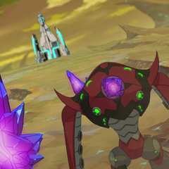 So is the crystal the possessor, or is it being possessed? I'm confused.