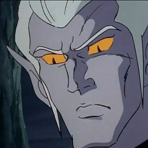 In some episodes, Lotor's facial features are with a more prominent chin and harder face. This depiction somewhat resembles Cossack, another Drule character.