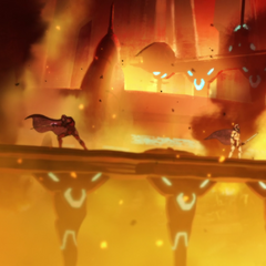 Altea burns after Zarkon is denied Voltron.
