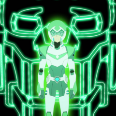 When Voltron goes full <i>Tron</i>.
