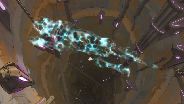 File:41. Cloaked Green Lion flying over Balmera tunnel.png