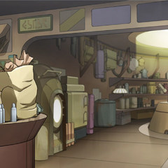An original Unilu swap shop, from before the Empire began.