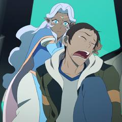 Allura meets Lance.