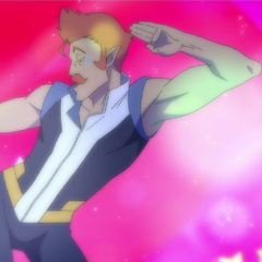 …we need to see Lance introduce Coran to disco. Now plzkthxbye.