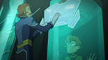 28. Chibi Pidge as Coran explains memory tech