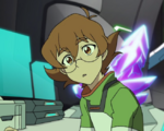 Pidge in Castle Ship