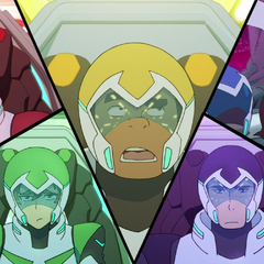 The Team listening to Hunk's <i>I Told You So</i> spiel.